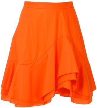 Paule Ka Layered Flared Skirt