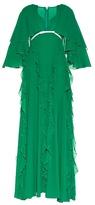 Giambattista Valli Ruffled silk-georgette gown