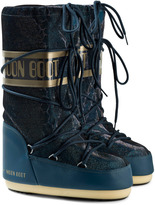 Moon Boot Blue Green Sunset Snake Effect Moon Boots