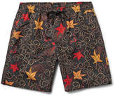 Saturdays NYC Batik Timothy Mid-Length Printed Swim Shorts
