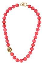 Angela Cummings 18K Quartz Bead Necklace