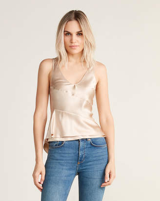 Narciso Rodriguez Silk Camisole Tank Top