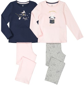 La Redoute Collections Pack of 2 Cotton Pyjamas, 3-12 Years