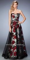 La Femme Kristy Rose Sweetheart Prom Dress