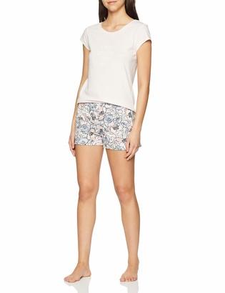 Skiny Women's Nostalgic Summer Sleep Pyjama Kurz Sets