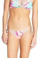 Women's The Bikini Lab Island In The Fun Side Tie Bikini Bottoms