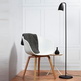Graham and Green Oliver Floor Lamp Black