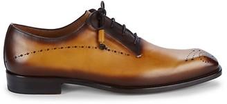 Mezlan Entourage Burnished Leather Oxfords