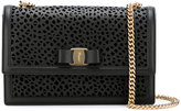 Salvatore Ferragamo Ginny shoulder bag - women - Calf Leather - One Size
