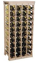 "40 bottle Wooden Wine Rack (Unfinished Pine)(38""h X 17""w X 10.5""d)"