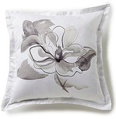 Barbara Barry Melody Floral Square Throw Pillow