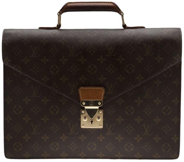 Louis Vuitton Vintage monogram serviette briefcase