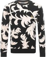 Vivienne Westwood Allover Print Sweatshirt Black