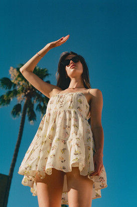 Urban Outfitters Honey Tiered Frock Mini Dress