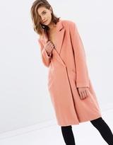 MinkPink Fearless Wool Coat