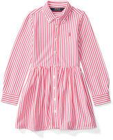 Ralph Lauren Striped Pima Cotton Shirtdress