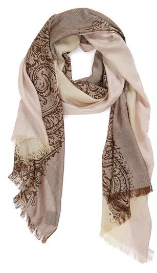 Vince Camuto Paisley Scarf