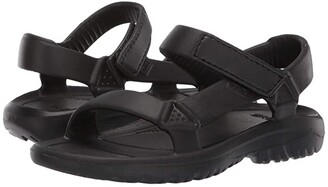 Teva Hurricane Drift (Toddler/Little Kid) (Black) Kids Shoes