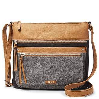 Fossil Relic by Relic Riley N/S Crossbody Bag