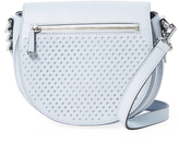 Rebecca Minkoff Astor Small Perforated Star Saddle Crossbody
