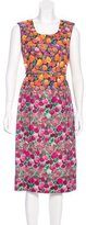 Marc Jacobs Floral Print Midi Dress w/ Tags