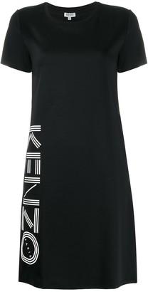 Kenzo logo-print T-shirt dress