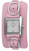 Freelook Women's HA1573-5 Square Leather Band Watch