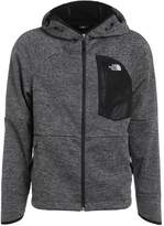 The North Face Windwall Fleece Black Heather