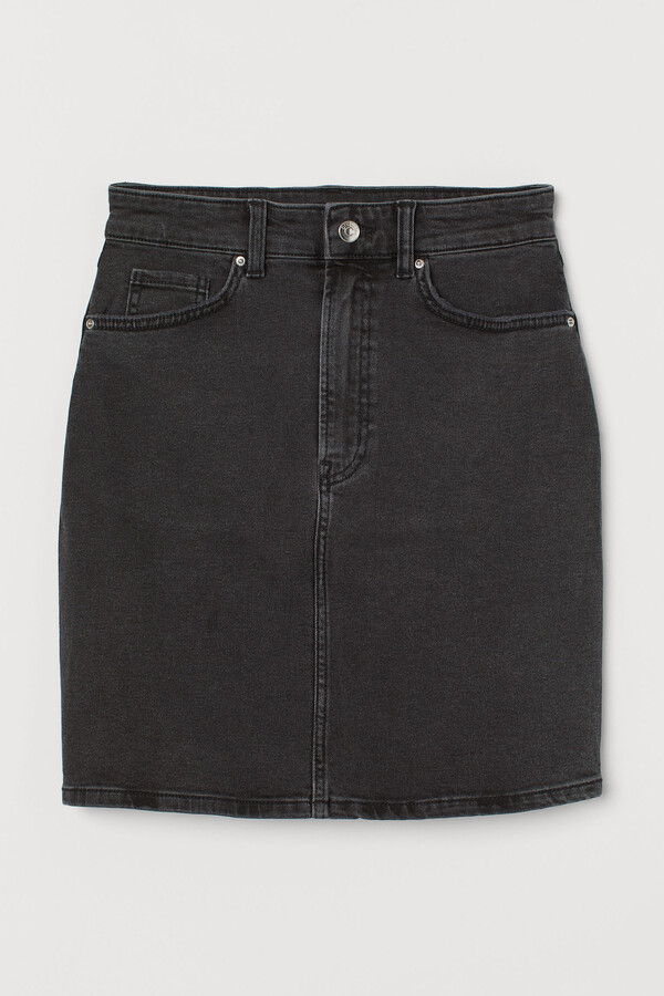 Thumbnail for your product : H&M Mom Fit Denim skirt