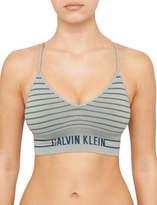 Calvin Klein Seamless Logo Bralette Unlined Longline Multiway Bra