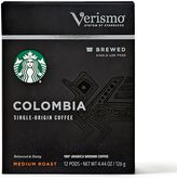 Starbucks VerismoTM 12-Count Colombia Single Origin Brewed Coffee Pods