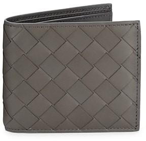 Bottega Veneta Woven Leather Billfold Wallet