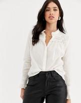 Vero Moda lace insert shirt