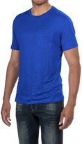 Slate & Stone Adrien T-Shirt - Linen, Short Sleeve (For Men)