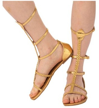 Rubie's Costume Co Womens Cleopatra Sandal Halloween Costume Accessory