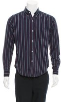 Band Of Outsiders Striped Button-Down Shirt