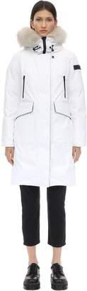 Peuterey Nascha Nylon Down Jacket W/ Fur