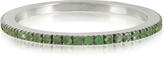 Forzieri Natural Tsavorites Eternity Band Ring