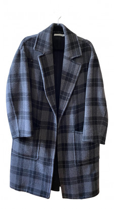 Vince Grey Wool Coats