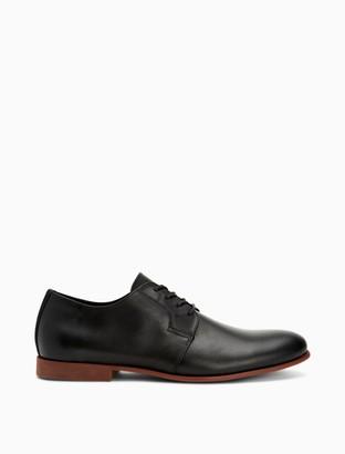 Calvin Klein Leland Crust Leather Dress Shoe