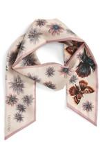 Valentino Women's Mariposa Garden Skinny Silk Scarf