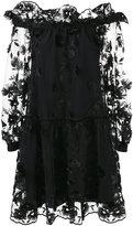 Alberta Ferretti Abito floral mesh dress - women - Silk/Polyester/Acetate/other fibers - 44