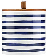 Kate Spade Charlotte Street Striped Canister