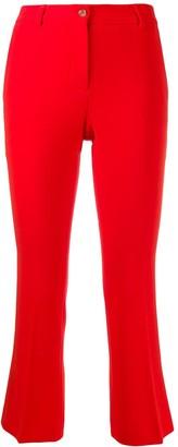 Alberto Biani slim-fit cropped trousers
