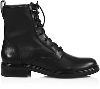 Rag & Bone Slayton Leather Combat Boots