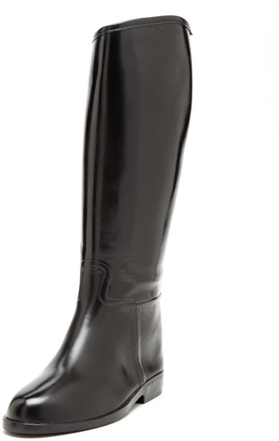 dav Equestrian Solid Rain Boot