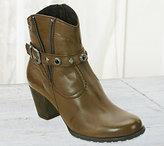 David Tate Napa Flex by Leather Ankle Boots - Ramona