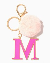 Charming charlie Furry Initial M Keychain