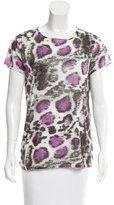 Stella McCartney Leopard Print T-Shirt