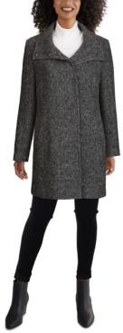 Cole Haan Houndstooth Walker Coat